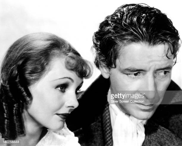 English actors Ronald Colman and Elizabeth Allan in a promotional portrait for 'A Tale Of Two Cities' directed by Jack Conway 1935