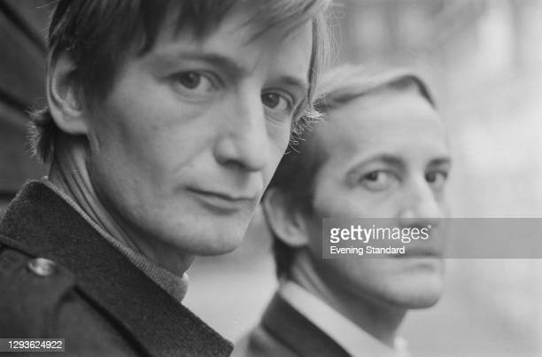 English actors Ronald Pickup and Charles Kay, UK, October 1967. They are starring together in the Shakespeare play 'As You Like It' at the National...