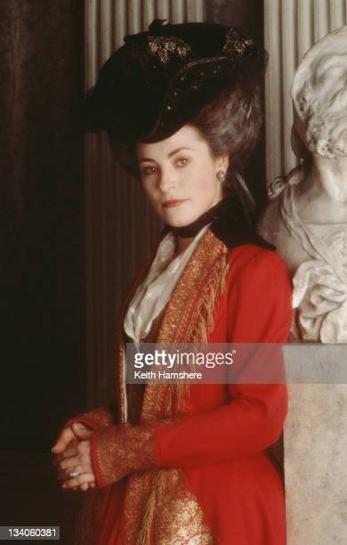 English actress Amanda Donohoe as Lady Elizabeth Pembroke in the film 'The Madness of King George' 1994