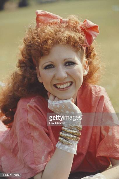 English actress and dancer Bonnie Langford, 1984.