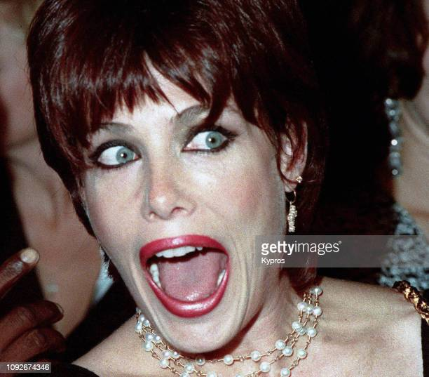 English actress and model Kelly LeBrock attends the premiere of the film 'Under Siege' at the Mann Village Theater in Westwood California 8th October...