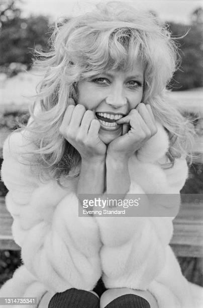 English actress and model Vicki Hodge, UK, 8th June 1974.