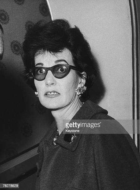 English actress and playwright Judy Campbell in Brighton, where her play 'The Bright One' is being performed, 25th November 1958.