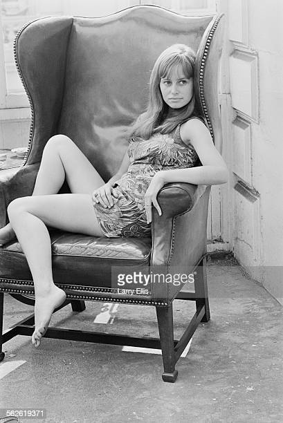 English actress and producer Susan George 1967