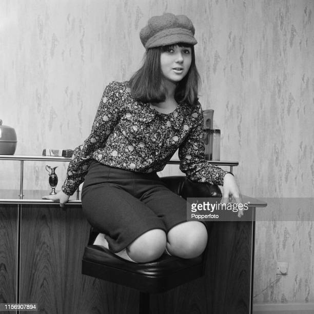 English actress and singer Adrienne Posta pictured in March 1965