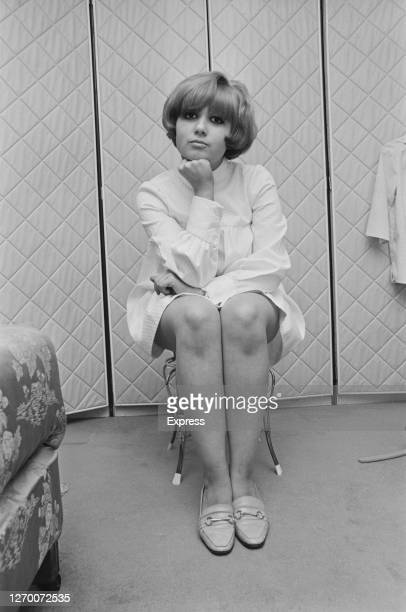 English actress and singer Adrienne Posta September 1966 She is set to appear on 'The Ed Sullivan Show' in the USA