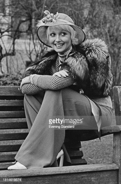 English actress and singer Adrienne Posta, UK, 28th February 1974.