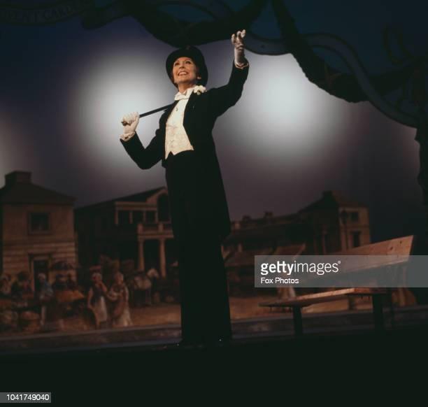 English actress and singer Anita Harris appears in the Royal Variety Performance London UK 23rd November 1981