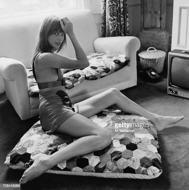 English actress and singer Jane Birkin 25th June 1970