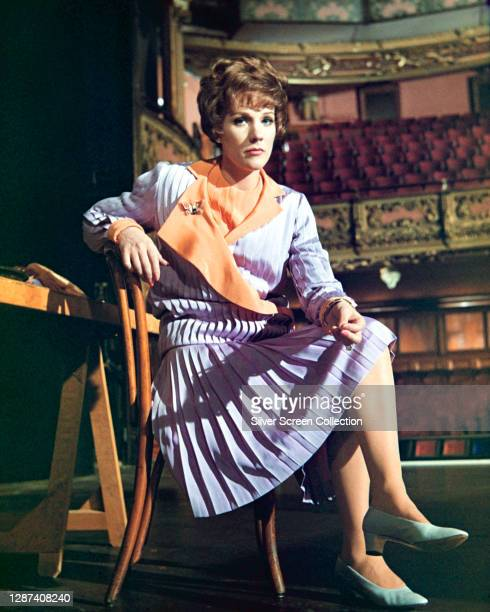 English actress and singer Julie Andrews as Gertrude Lawrence in a promotional image for the biopic 'Star!', 1968.