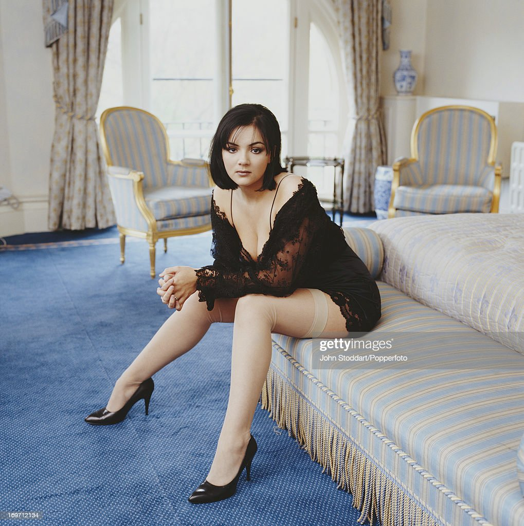 English actress and singer Martine McCutcheon, 1997.