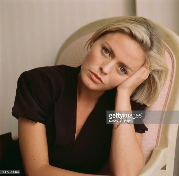 English actress and singer Patsy Kensit 1989