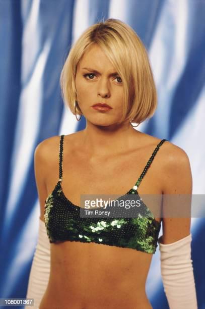 English actress and singer Patsy Kensit, circa 1995.