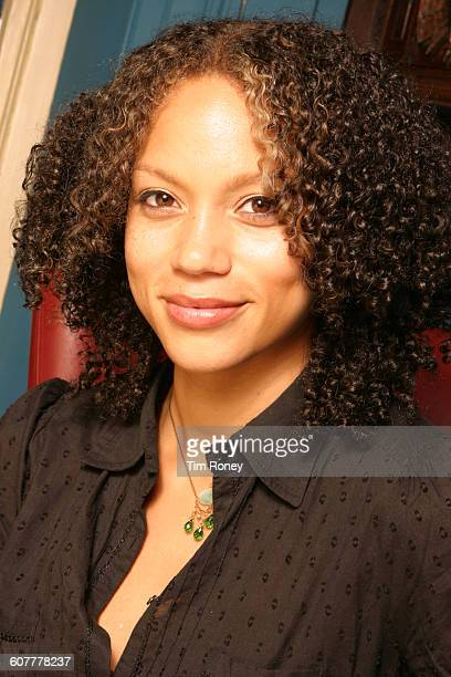 English actress and television presenter Angela Griffin circa 2005