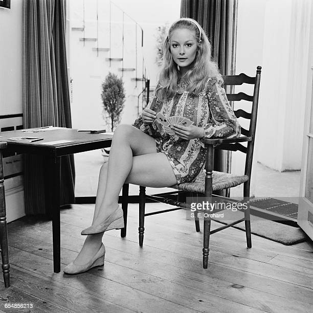 English actress and television presenter Jenny Hanley UK 10th July 1971