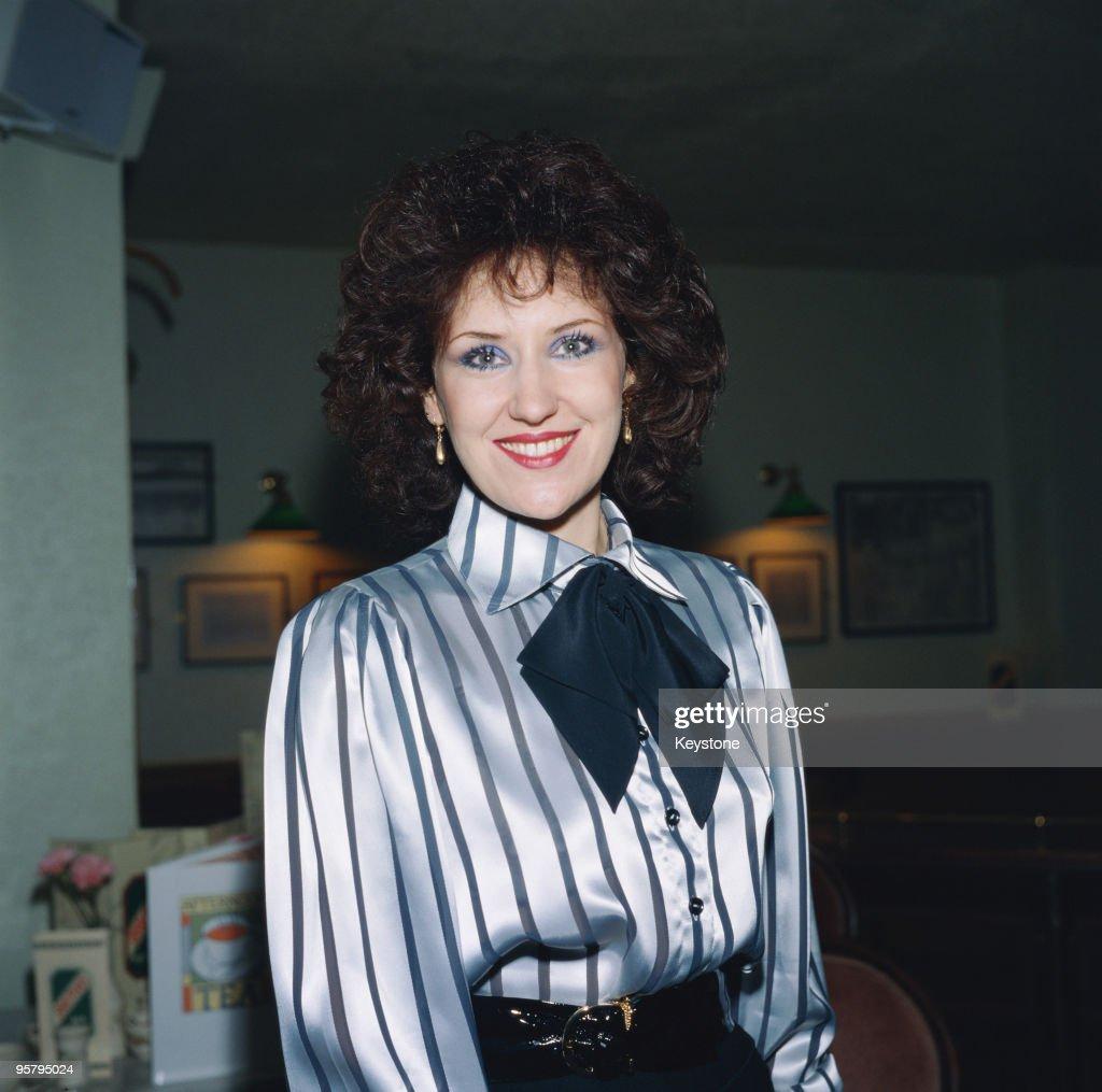 Anita Dobson : News Photo