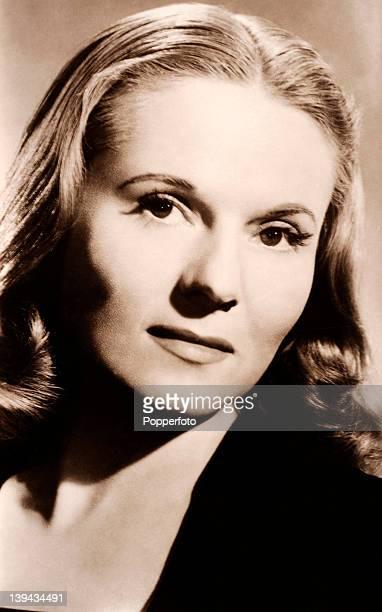 English actress Ann Todd circa 1940