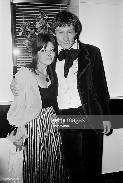 English actress Anna CalderMarshall and actor Timothy Dalton at the premiere of the film 'Wuthering Heights' in London 10th June 1971 They play...