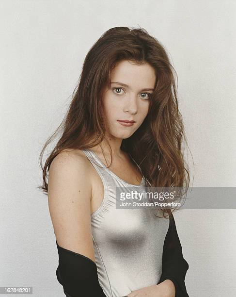 English actress Anna Friel, posed in 1994.