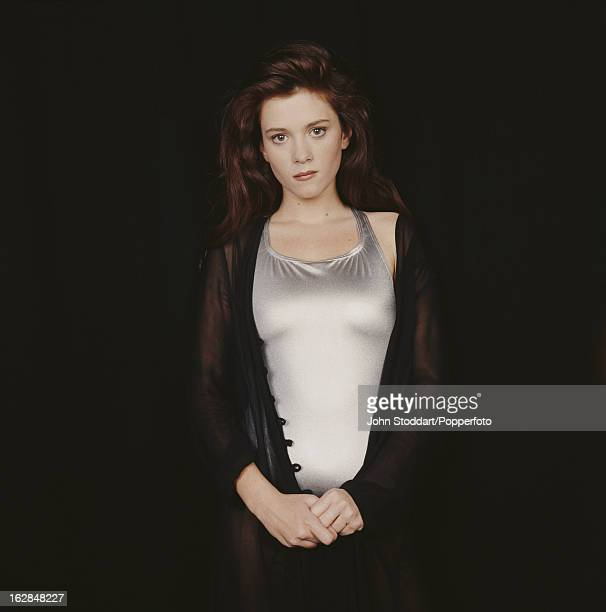 English actress Anna Friel posed in 1994