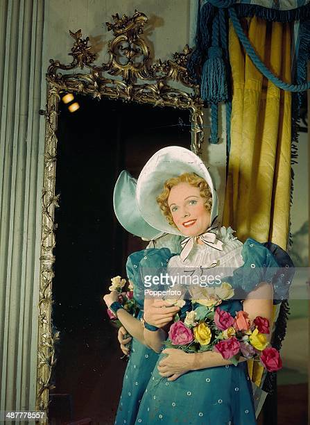 1944 English actress Anna Neagle as 'Emma' in the play of the same name playing at the Lyric Theatre London June 1944