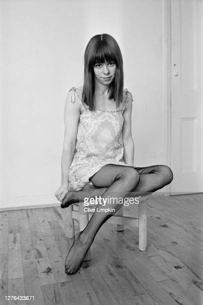 English actress Annette Robertson, star of the film 'The Party's Over', 9th December 1965. The film was censored in the UK for sexual content.