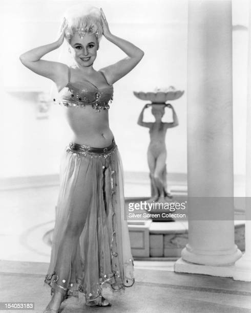 English actress Barbara Windsor as Daphne Honeybutt in 'Carry On Spying' directed by Gerald Thomas 1964