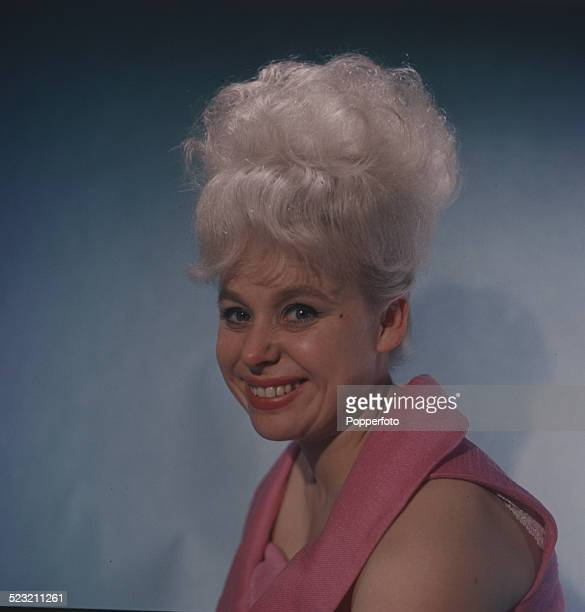 English actress Barbara Windsor posed in 1963