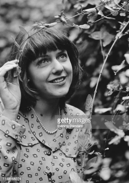 English actress Belinda Lang UK 22nd December 1975