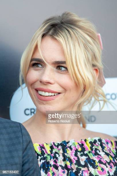 English actress Billie Piper attends a photocall for the World Premiere of 'Two for joy' during the 72nd Edinburgh International Film Festival at...