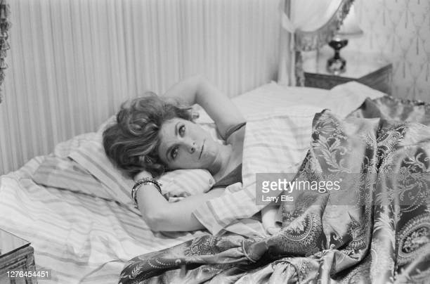 English actress Billie Whitelaw as the titular character in the television play 'The Ballad of Queenie Swann', an episode of anthology series 'Knock...
