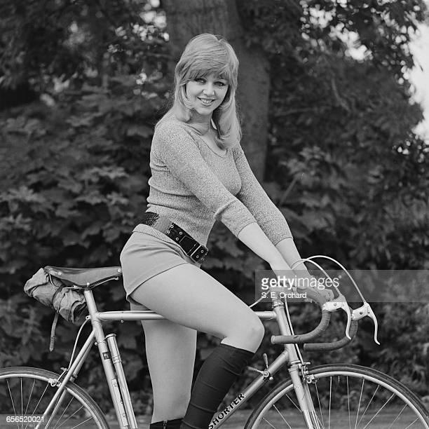 English actress Carol Hawkins UK 23rd July 1971