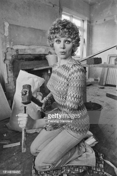 English actress Carol Hawkins, UK, 25th February 1974.