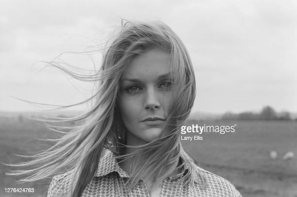 English actress Carol Lynley on location for the film 'The Shuttered Room' England 28th April 1966