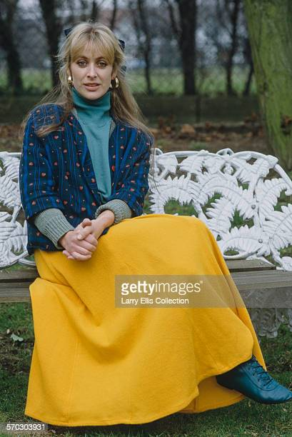 English actress Carol Royle circa 1988