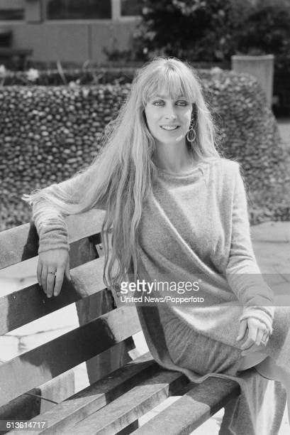 English actress Carol Royle posed in London on 28th April 1986