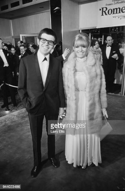 English actress Carol White and her husband British singer Michael King attend the premiere of 'Romeo and Juliet' Royal Film Performance at the Odeon...