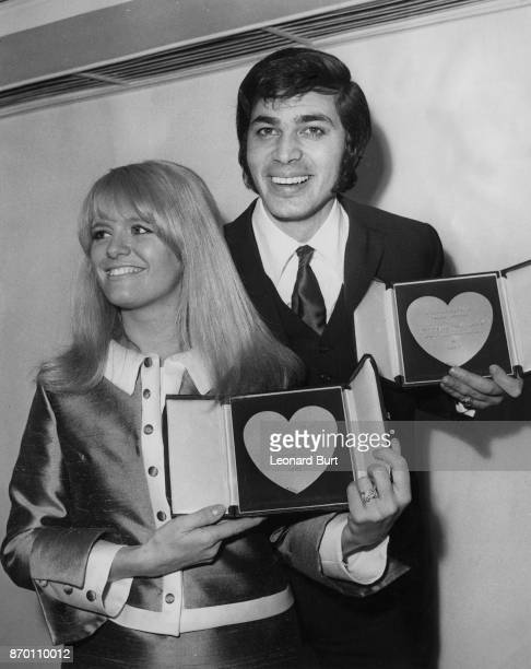 English actress Carol White wins Most Promising Star of 1967 for her role in 'Poor Cow' and singer Engelbert Humperdinck wins Show Business...