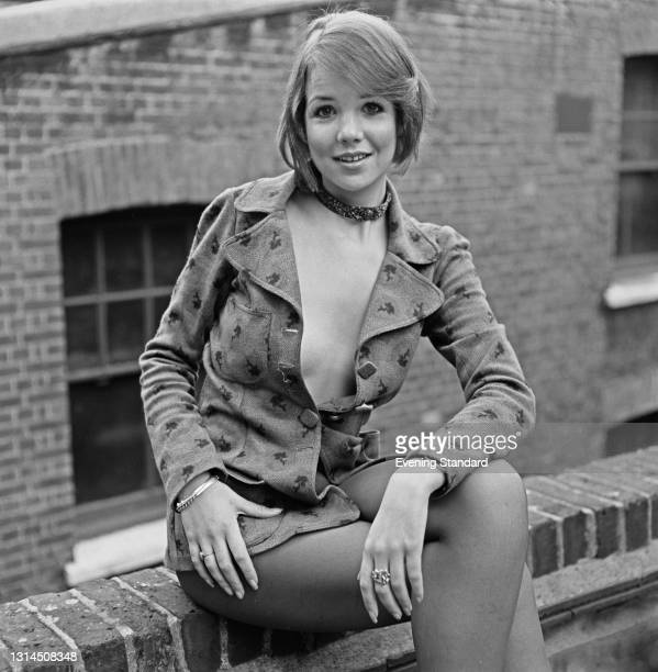 English actress Caroline Ellis, UK, 30th January 1974.