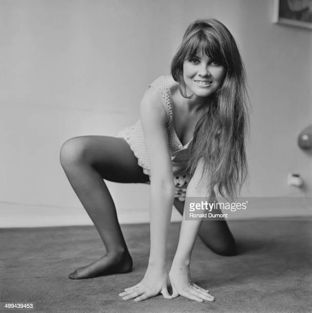 English actress Caroline Munro 1st May 1969