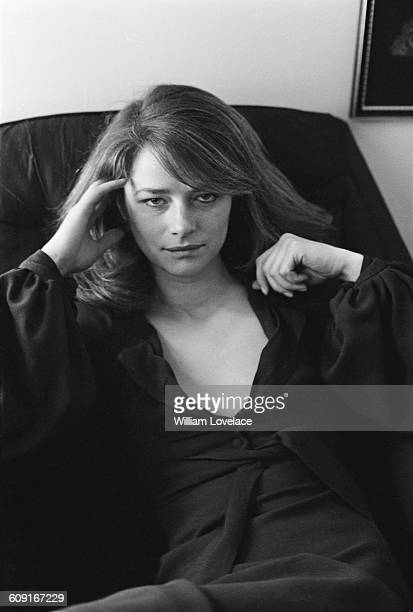 English actress Charlotte Rampling UK 7th April 1971