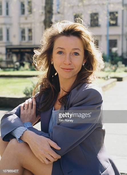 English actress Cherie Lunghi circa 1990