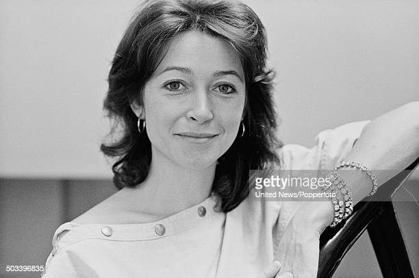 English actress Cherie Lunghi posed in London on 22nd August 1984