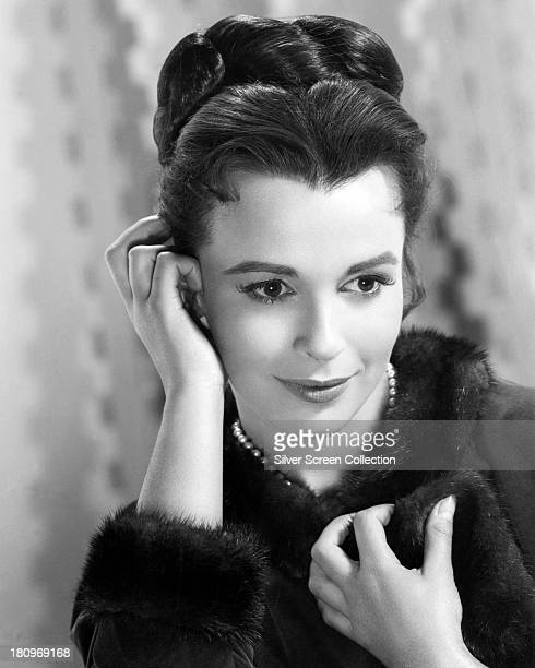 English actress Claire Bloom in a promotional portrait for 'The Brothers Karamazov' directed by Richard Brooks 1958