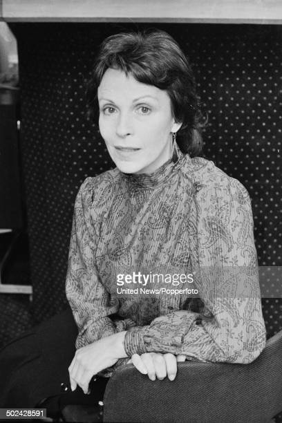 English actress Claire Bloom pictured in London on 25th March 1985