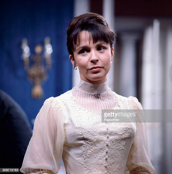 English actress Claire Bloom pictured wearing period costume in a scene from the television drama series 'Play Of The Week Ivanov' in 1966
