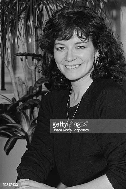 English actress Clare Higgins posed in London on 30th January 1986