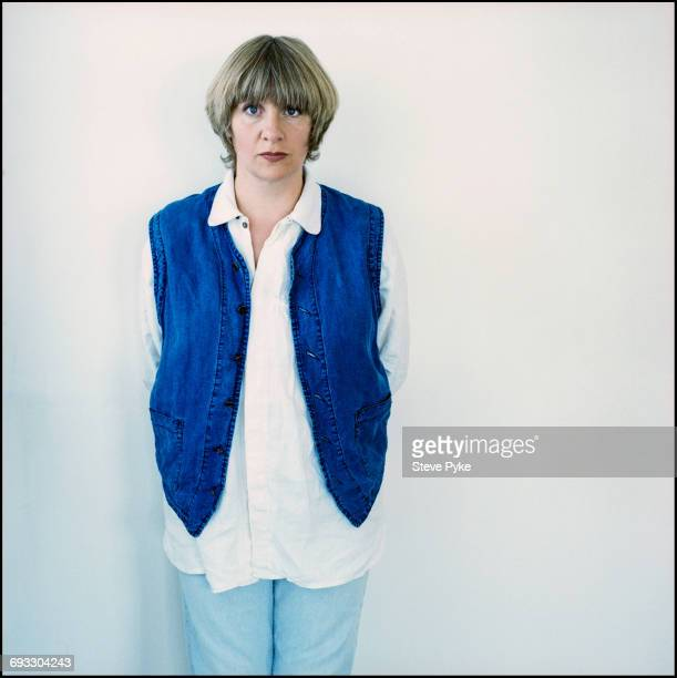 English actress comedienne singersongwriter and screenwriter Victoria Wood London 6th July 1993