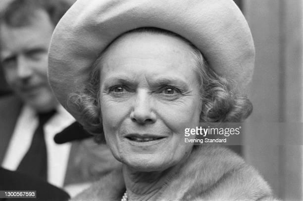 English actress Dame Anna Neagle , UK, 17th April 1973.