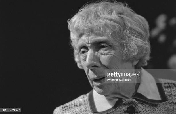 English actress Dame Edith Evans , UK, 12th November 1973.